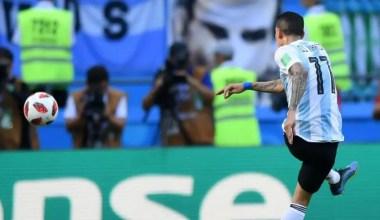 Halftime Score: Argentina 1, France 1: 2018 World Cup
