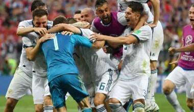 Akinfeev Saves Two Penalties, Russia Beats Spain: World Cup Score