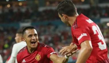 Sanchez, Herrera Score, Manchester United Beats Real Madrid 2-1