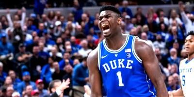 Zion Williamson of Duke