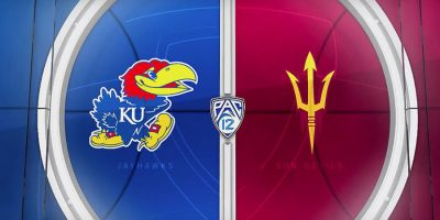 Arizona State v Kansas college basketball game