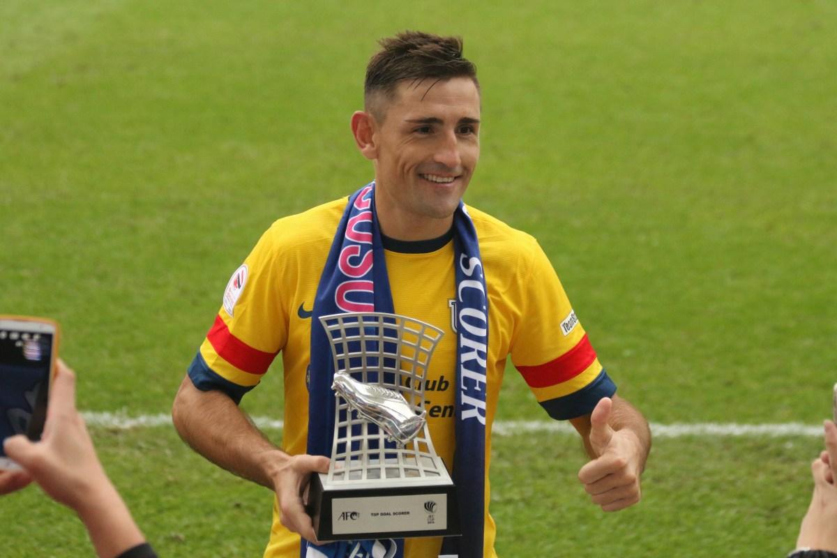 亞協 Top Goalscorer 巴倫古素! – Sporting HK