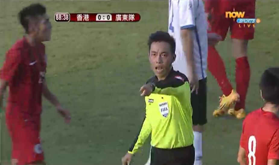 省港盃球證陸建燊曾被重罰停賽 – Sporting HK