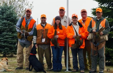 The cast of the morning hunt