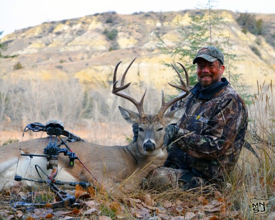 Bret with his whitetail