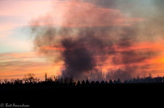 51313 - milan fd sunset smoke 2