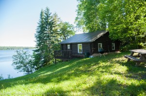 Cabin at Veterans on the Lake