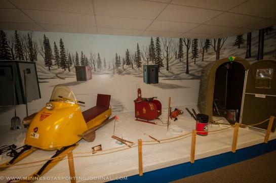Ice Fishing Diorama
