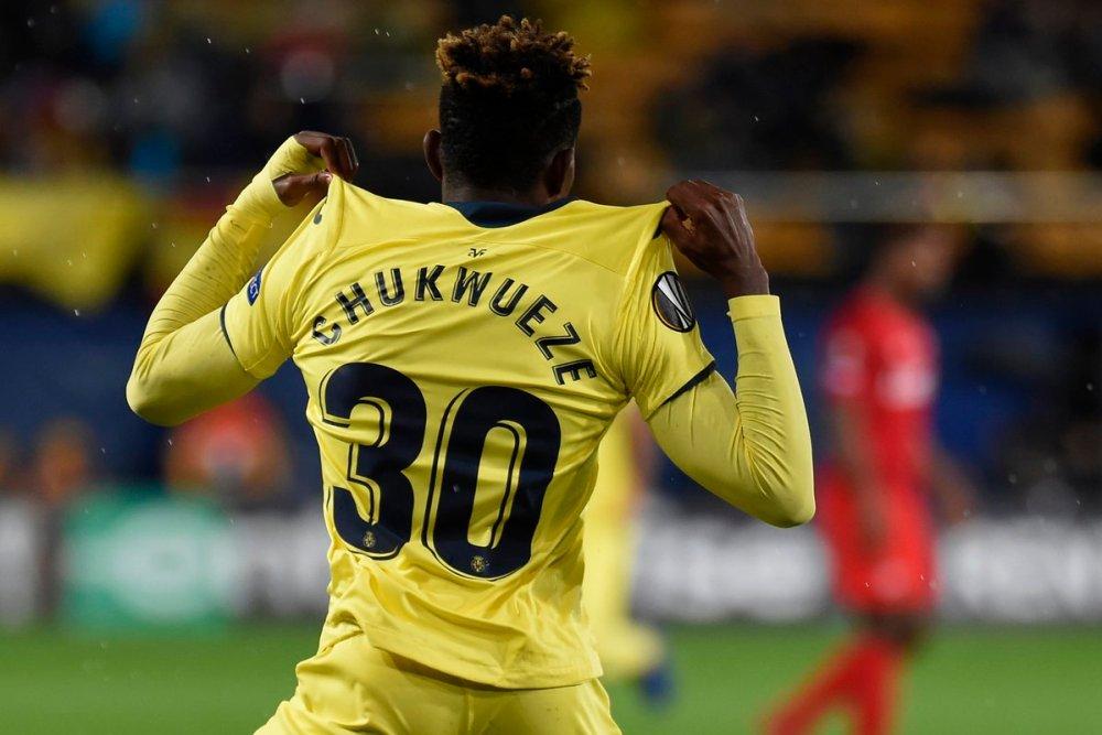Samuel Chukwueze Gets Jersey Number 11 At Villarreal