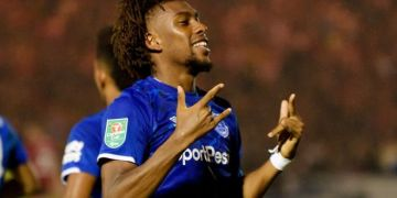 Iwobi still in cloud 9 after scoring in AFCON qualifiers
