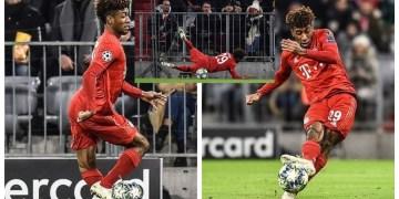 UCL: Coman suffers knee injury during Tottenham clash