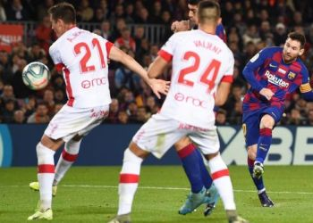 Messi bags 53rd hat-trick in five-goal demolition of Mallorca