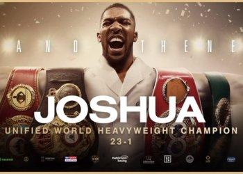 BREAKING: JOSHUA REGAINS WORLD TITLES
