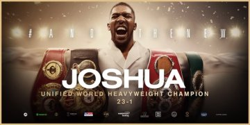 BREAKING: JOSHUA REGAINS WORLD TITLES
