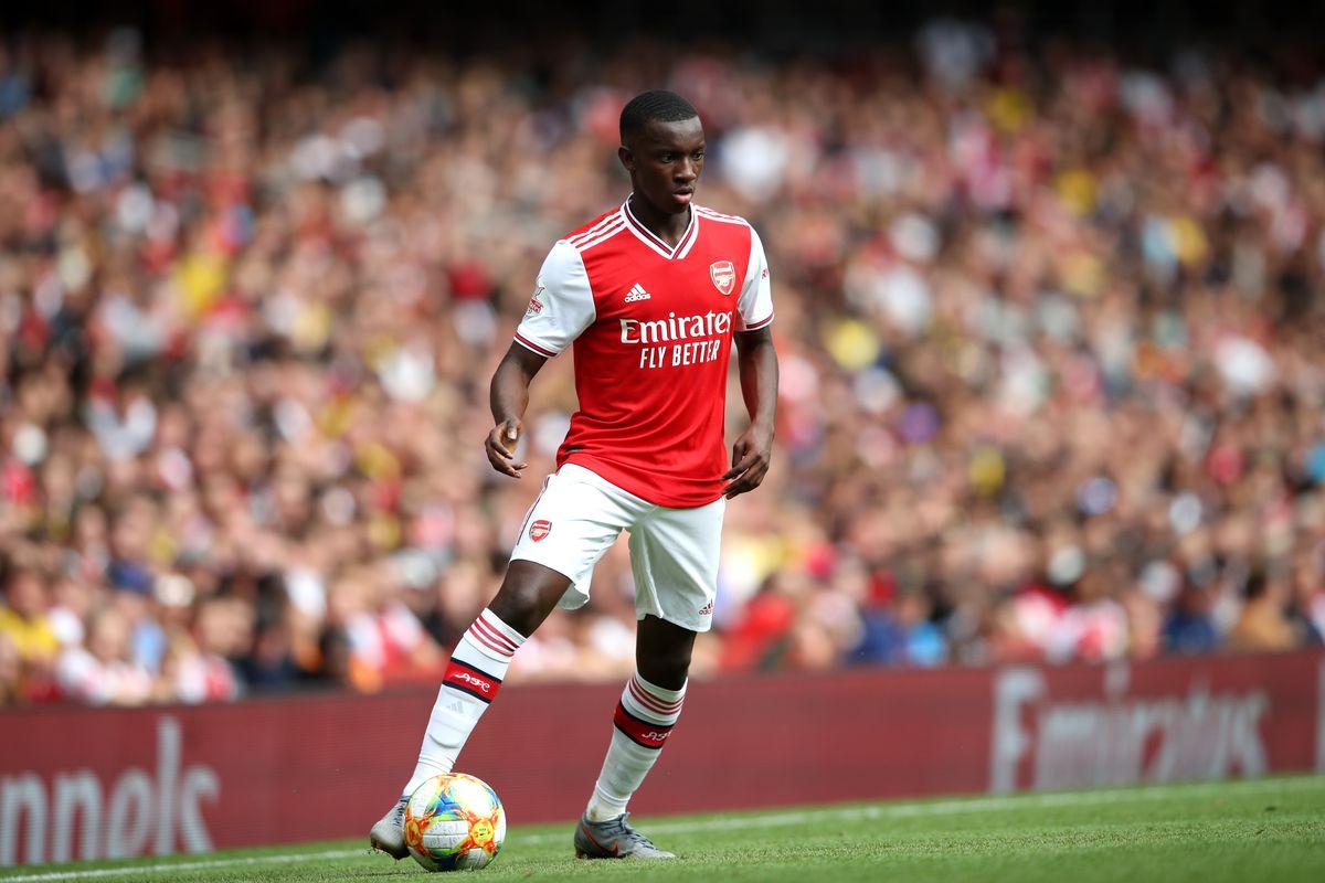 Eddie Nketiah ready to leave Arsenal