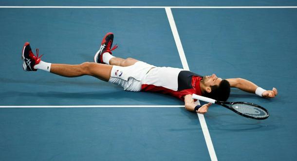 ATP Cup: Battling Djokovic leads Serbia into final