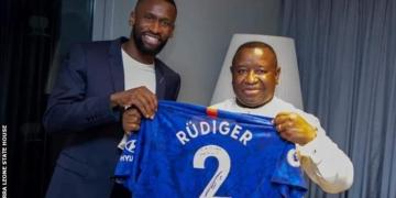 Chelsea's Antonio Rudiger says Sierra Leone is 'residence' as he makes donation
