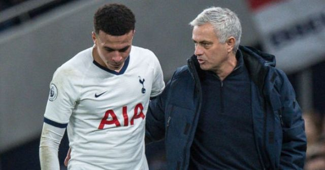 Dele Alli fell out with Mourinho before half-time