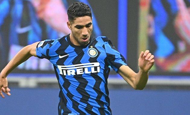 Inter won't take less than €80m for Hakimi