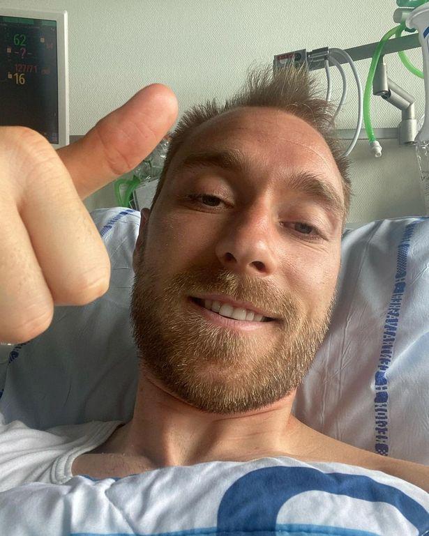 Hope of returning: Eriksen 'to undergo medical test next month'