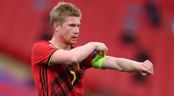 De Bruyne ensures Belgium progress with win over Denmark