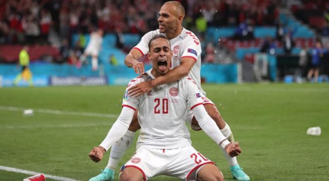 Euro 2020: Denmark pull off stunning win over Russia to make Euro last 16