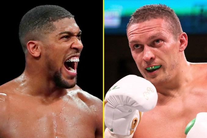 Anthony Joshua versus Oleksandr Usyk bout for September 25