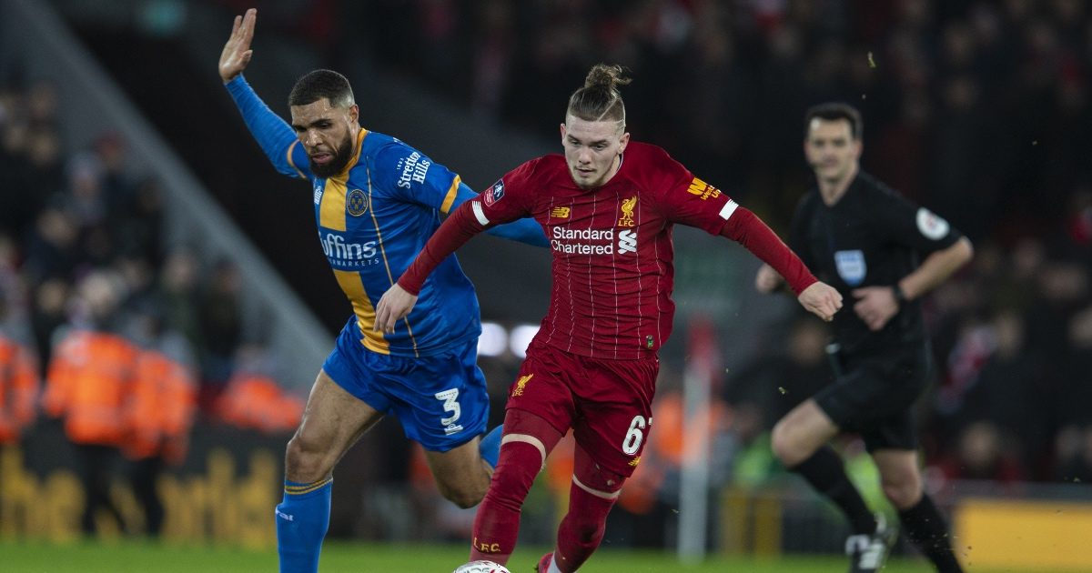 Liverpool announce new long-term contract for Elliott