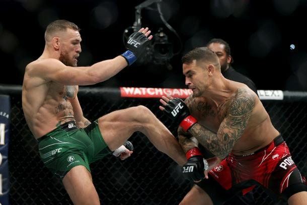 UFC: Poirier wins by TKO as McGregor suffers horrific broken leg