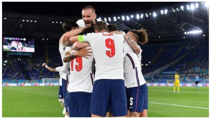 Euro 2020: England thrash Ukraine to set up semi-final against Denmark