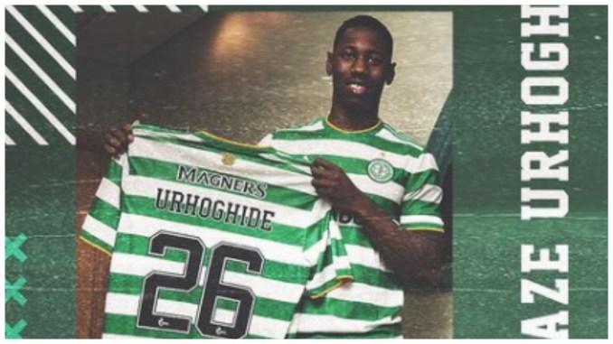 Celtic sign Nigeria-born defender from Sheffield Wednesday