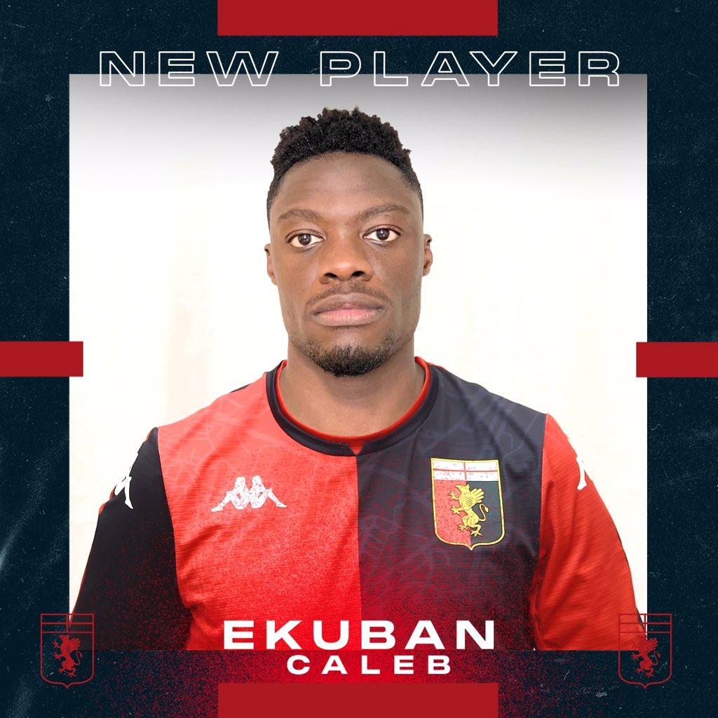Genoa sign Ekuban