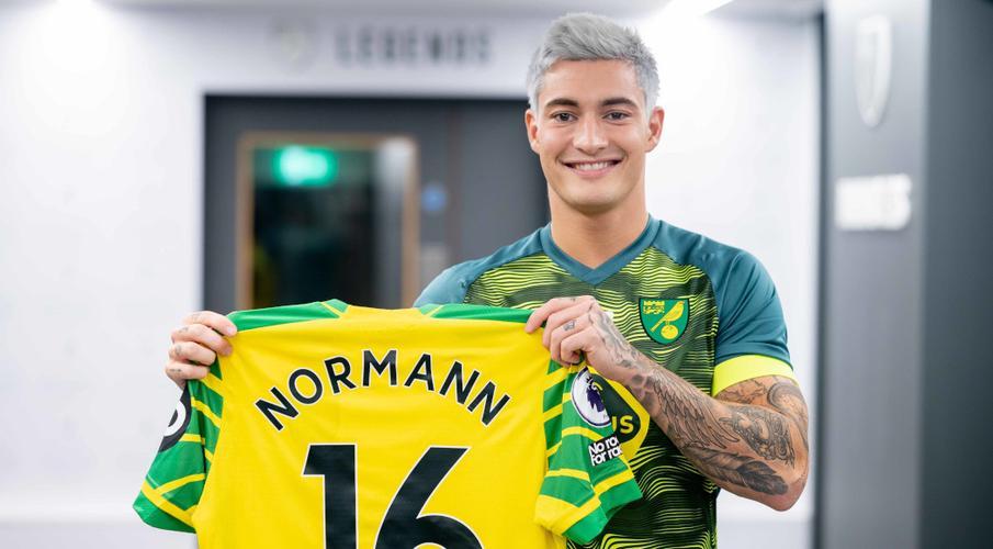Norwich snap up Norway midfielder Normann on loan