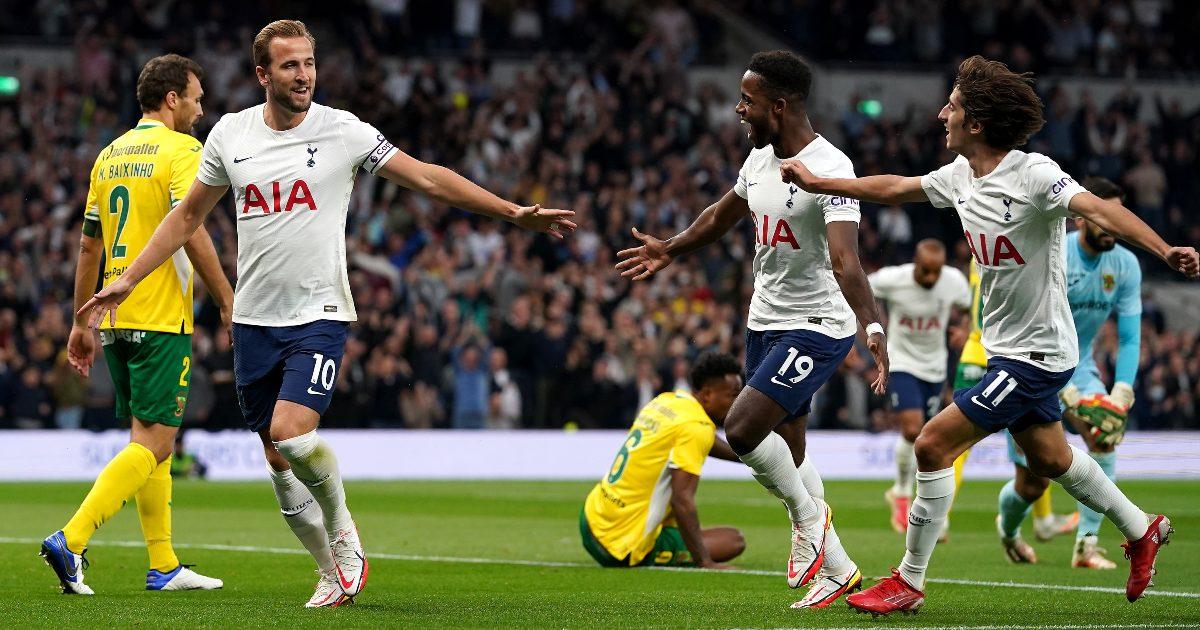 Kane brace helps Spurs advance on 3-1 aggregate