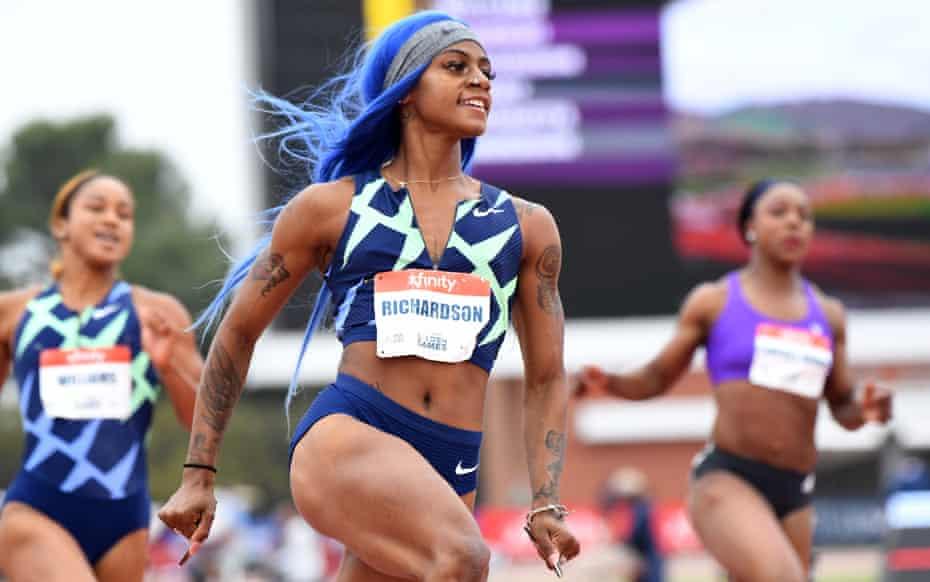 Sha'Carri Richardson bounces back at Prefontaine
