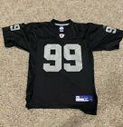 Vintage Warren Sapp Oakland Raiders Jersey #99 Reebok NFL Jersey Sz M Medium