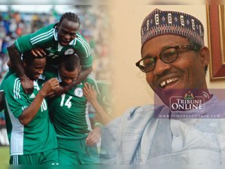 Buhari hails Super Eagles victory over Cameroon