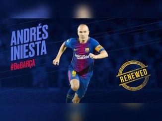 BREAKING: Iniesta agrees lifelong Barca deal