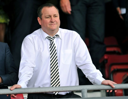 Mike Ashley puts Newcastle United up for sale
