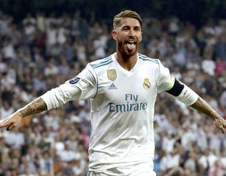 Ramos reveals his top 5 for the Ballon d'Or