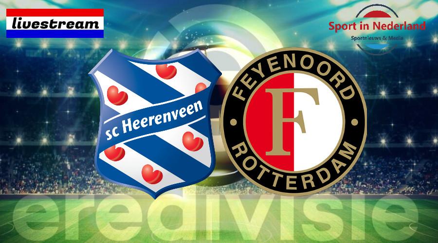 Eredivisie livestream SC Heerenveen – Feyenoord