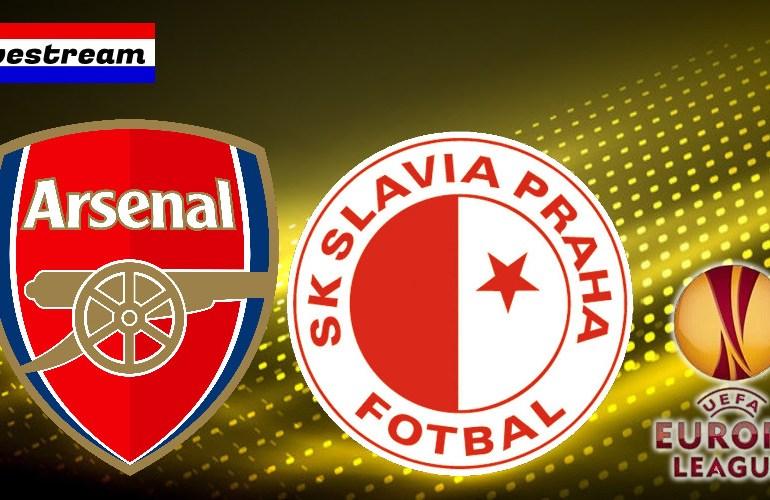 Arsenal - Slavia Praag Europa League livestream
