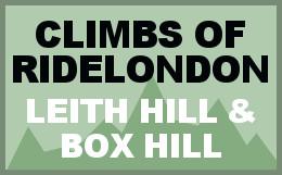 Climbs of RideLondon