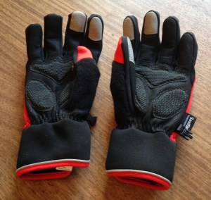 Cycling gloves gel padding