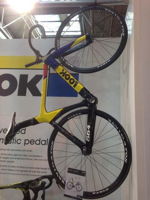Look bike hung up