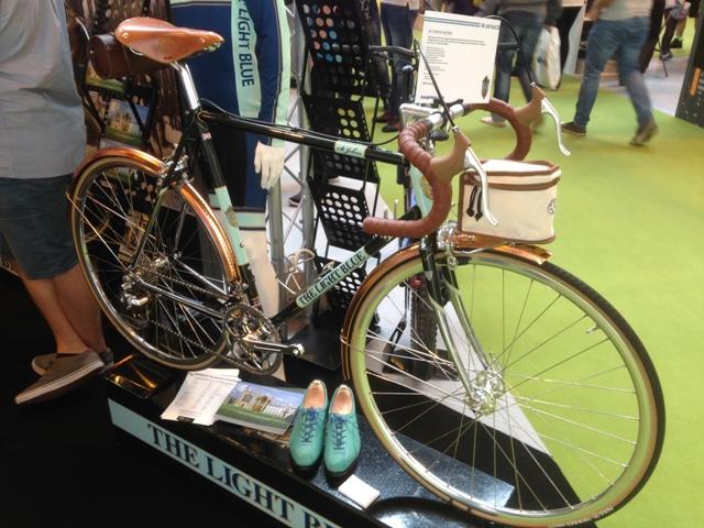 The Light Blue Steel bike