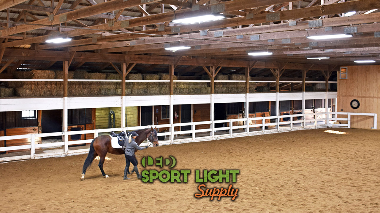 horse arena lighting cost how much