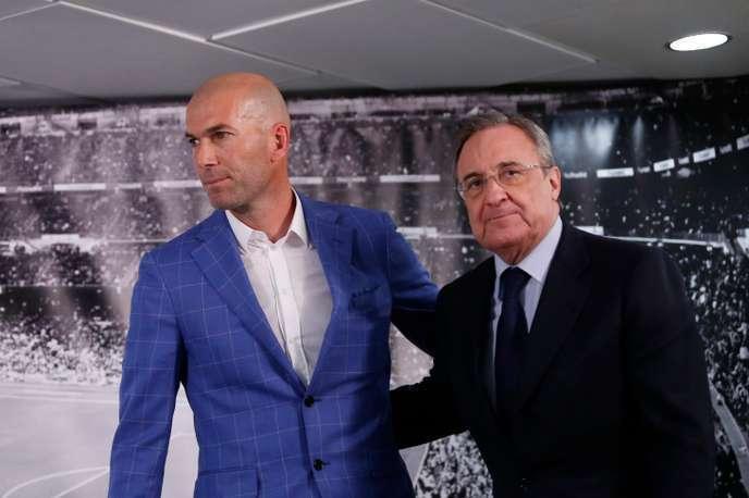 Zinedine Zidane returns to Real Madrid as Florentino Perez's favorite son — Archy Worldys