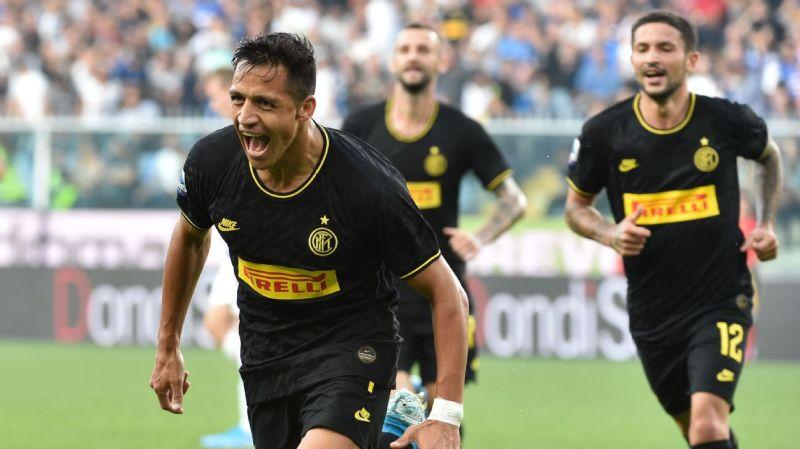Sanchez scores twice, sent off as Inter win — Latest Football News