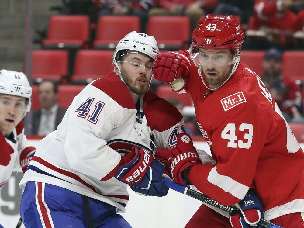 Liveblog: Canadiens clip Wings 8-1 — Montreal Gazette